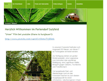 Tablet Preview of feriendorf-sulzfeld.de